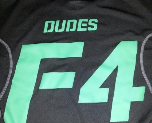 F4 Running Dudes Logo 2011